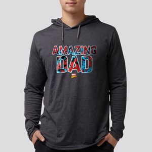 Spider-Man Dad Mens Hooded Shirt