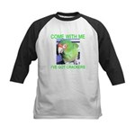 I've Got Crackers Kids Baseball Jersey