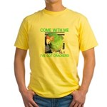 I've Got Crackers Yellow T-Shirt