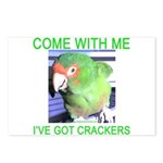 I've Got Crackers Postcards (Package of 8)