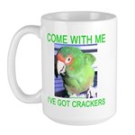 I've Got Crackers Large Mug