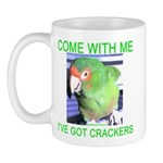 I've Got Crackers Mug
