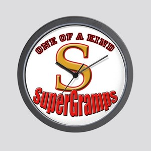 click to view SuperGramps Wall Clock
