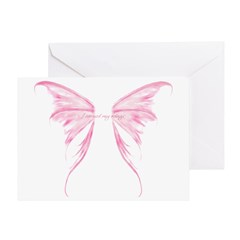 I earned my wings Greeting Card