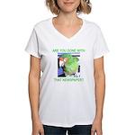 Useful Newspaper Women's V-Neck T-Shirt