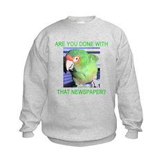 Useful Newspaper Sweatshirt