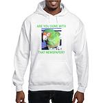 Useful Newspaper Hooded Sweatshirt