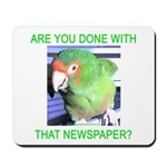 Useful Newspaper Mousepad