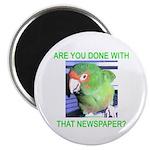 Useful Newspaper Magnet