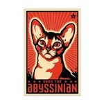 Obey the Abyssinian! Propaganda Mini Poster