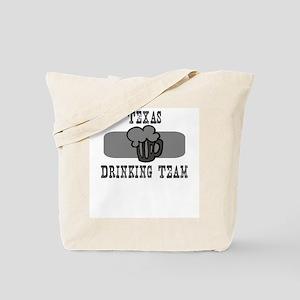 Texas Drinking Team Tote Bag