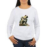 Vinny the Pug Women's Long Sleeve T-Shirt