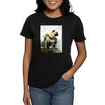 Vinny the Pug Women's Dark T-Shirt