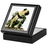 Vinny the Pug Keepsake Box
