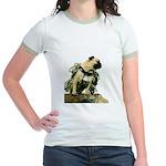 Vinny the Pug Jr. Ringer T-Shirt