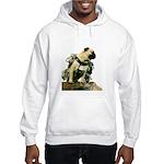 Vinny the Pug Hooded Sweatshirt