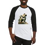 Vinny the Pug Baseball Jersey