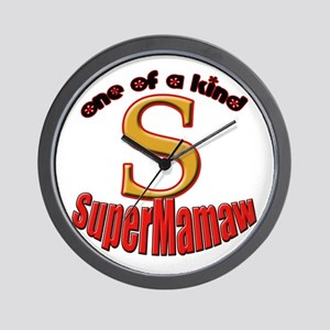 click to view Super Mamaw Wall Clock