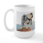 Vinny the Pug Large Mug