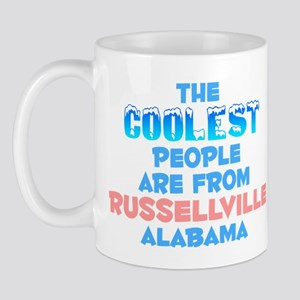 Coolest: Russellville, AL Mug