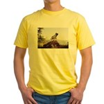 Vinny the Pug Yellow T-Shirt