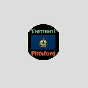 Pittsford Vermont Mini Button