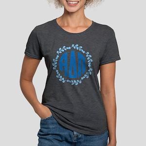 Alpha Delta Pi Wreath Womens Tri-blend T-Shirt