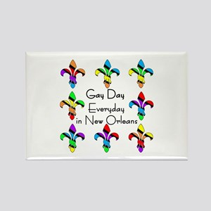 Every Day is gay Rectangle Magnet