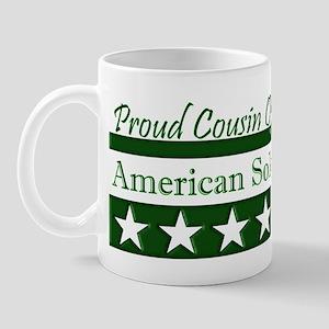 Cousin of American Soldier Mug