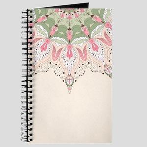 Decorative Floral Journal