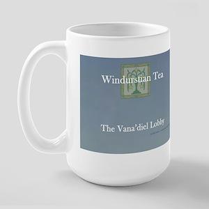 """""""Windurstian/San d'Orian Tea"""" Large Mug"""