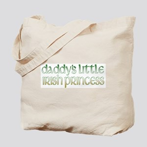 Daddy's Irish Princess Tote Bag