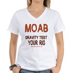 Moab Women's V-Neck T-Shirt