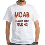 Moab White T-Shirt