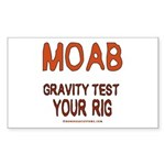 Moab Rectangle Sticker