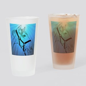 cheval Drinking Glass