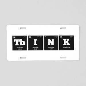 Periodic Elements: ThINK Aluminum License Plate