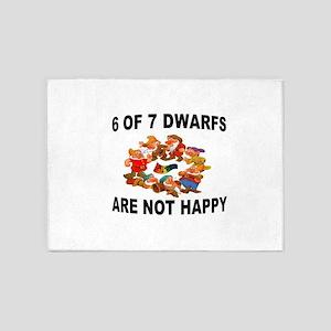 DWARFS 5'x7'Area Rug