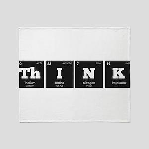 Periodic Elements: ThINK Throw Blanket