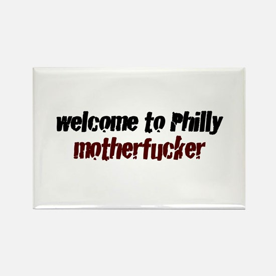 Welcome to Philly Rectangle Magnet