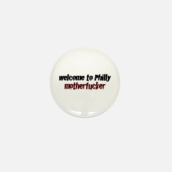Welcome to Philly Mini Button