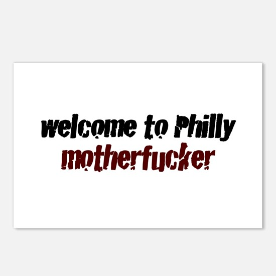 Welcome to Philly Postcards (Package of 8)