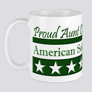 Aunt of an American Soldier Mug