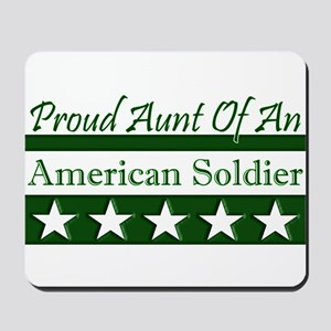 Aunt of an American Soldier Mousepad