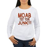 MOAB TEST Women's Long Sleeve T-Shirt