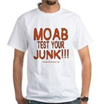 MOAB TEST White T-Shirt