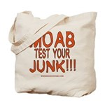 MOAB TEST Tote Bag