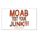 MOAB TEST Rectangle Sticker