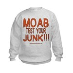 MOAB TEST Kids Sweatshirt