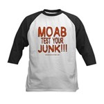 MOAB TEST Kids Baseball Jersey